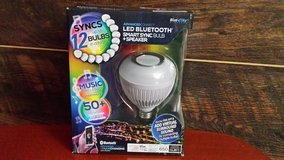 BLUETOOTH LED PARTY LIGHT BULB in Moody AFB, Georgia