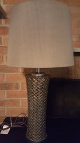 Gold table lamp, 27.5H in Wright-Patterson AFB, Ohio