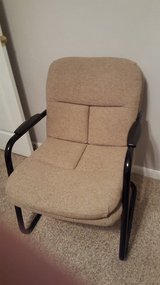 Brown office chair in Wright-Patterson AFB, Ohio