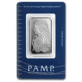 20 gram Silver Bar - PAMP Suisse (Fortuna, In Assay) in Fort Polk, Louisiana