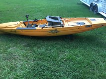 Hobie Pro Angler 14 with mirage drive in Leesville, Louisiana