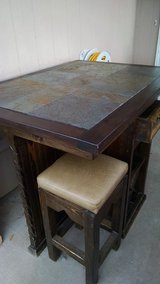 table and matching stools in Alamogordo, New Mexico