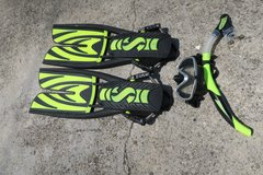 SCUBAPRO L FINS & MASK & spacial trong straps in Okinawa, Japan