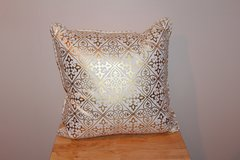 Metallic Gold Design Throw Pillow in Fort Leonard Wood, Missouri