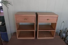 Two Nightstands/End Tables in Alamogordo, New Mexico