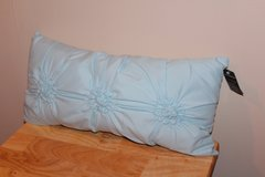 NWT Light Blue Throw Pillow in Fort Leonard Wood, Missouri