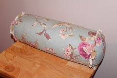 Floral Print Bolster Pillow in Fort Leonard Wood, Missouri