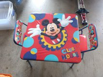 Mickey mouse table and chairs in Quantico, Virginia