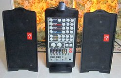Fender Passport PD-50 250-Watt Portable Sound System # 069-1002 Tested & Working in 29 Palms, California