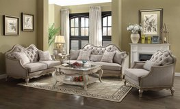 "BRAND NEW! LUXURIOUS SOFA + LOVE 2PC ""DAISHA COLLEZZION"" FINE LIVING ROOM SET in Camp Pendleton, California"