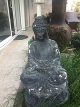 Big Budha figure in Ramstein, Germany