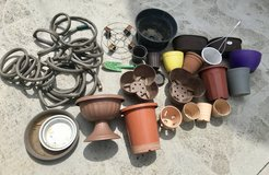 Garden lot, water hose, spade, planters more than 30 pieces in Okinawa, Japan