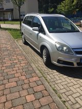 2006 Opel Zafira 7 Seater Minivan with Biult in Navigation in Ramstein, Germany