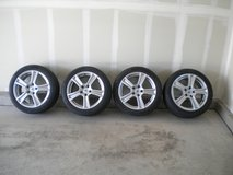 "RC Design Alloy 17"" rims & Continental ContiSportContact 225/45-R17 Summer Performance Tires in Fort Carson, Colorado"