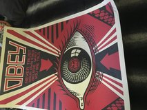 OBEY Poster. in Fort Irwin, California