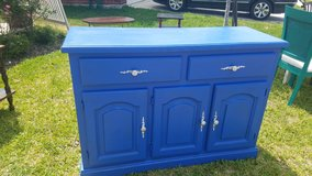Antique Blue Dresser in Spring, Texas