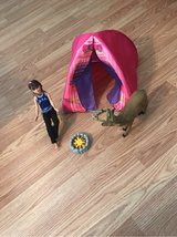 Camping Barbie in Cadiz, Kentucky