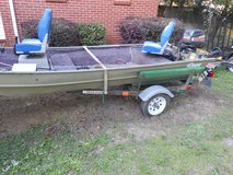 1985 Lowe stick-steer Boat in Macon, Georgia