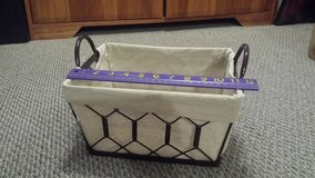 Sturdy Lined Metal Basket in Chicago, Illinois