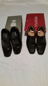 Mens Black Dress Shoes(2 Pairs) in Fort Polk, Louisiana