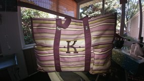 "Beautiful Thirty-One Deluxe Utility Tote ""K"" in Yorkville, Illinois"