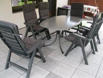 Patio furniture set and Beer garden table and benches in Spangdahlem, Germany