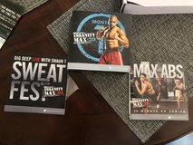 Insanity max 30, max abs, sweat fest workout videos in 29 Palms, California