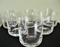 Vintage Crystal Old Fashioned / Rocks Glasses (Set of 6) in Lackland AFB, Texas