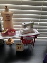 18 inch doll target seamstress set in Fort Campbell, Kentucky