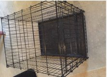 Medium to large dog crate good shape in Bolingbrook, Illinois