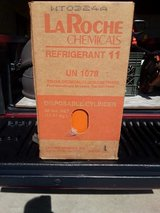 LaRoche Chemicals R-11 Refrigerant 30lbs. Tank-Full Never Used-Virgin in Box in Yorkville, Illinois