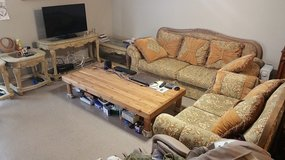 Sofa set and tables in Clarksville, Tennessee