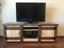 Gorgeous rustic solid wood entertainment center in Fort Riley, Kansas
