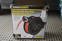Retractable Air Hose Reel with Air Hose in Lockport, Illinois