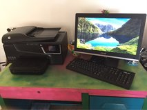 Asus All-in-one computer and HP Printer in 29 Palms, California