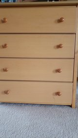 crib, changing table, dresser in Plainfield, Illinois