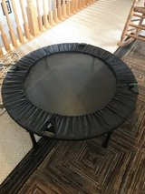 Mini trampoline -brand new-used once in Joliet, Illinois