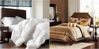 2 Comforters & One w/Bed Skirt in Yucca Valley, California