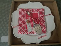 Mud pie Sweet X-mas plate server set in St. Charles, Illinois
