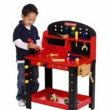 Craftsman wooden tool table kids in Naperville, Illinois