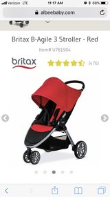 Black Britax B-Agile Stroller -GOOD CONDITION in Macon, Georgia