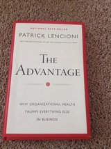 The Advantage by Patrick Lencioni in Naperville, Illinois