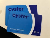 Oyster cards in Ramstein, Germany