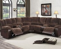 NEW! QUALITY URBAN 2TONE SOFA RECLINER SECTIONAL W/CUPHOLDERS!:) in Camp Pendleton, California