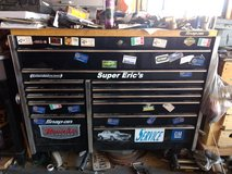 """Snap-On KRL1022  54"""" 13 Drawer Double Bank Roll Cab butcher block top Muscle car Edition in Alamogordo, New Mexico"""