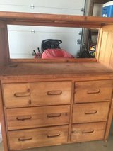 REDUCED! Dresser and attached bookshelf in Chicago, Illinois