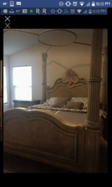 Canopy king bed in Bolingbrook, Illinois