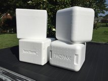 "Styrofoam ""cold-pak"" containers in Byron, Georgia"