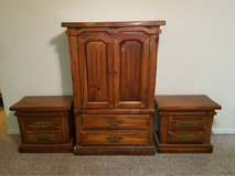 armoire and 2 side tables in Fort Knox, Kentucky