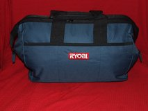 Ryobi Heavy-Duty Contractor's Canvas Tool Bag Blue NEW in St. Charles, Illinois